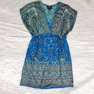 Angie Kimono Mini Dress